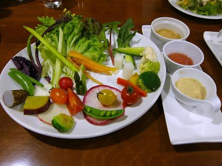 ピアチェーレ 朝採り野菜のパレット