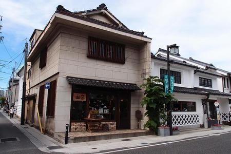 松本の城下町