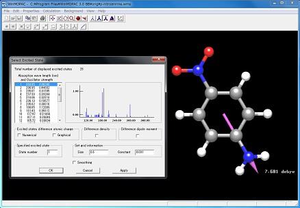 p ニトロァニリンの分子轨道计算
