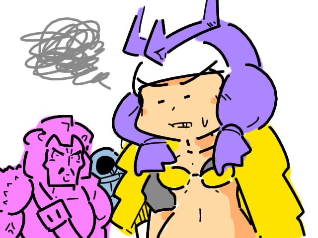 擬人化 gijinka humanized transformers pretender bludgeon