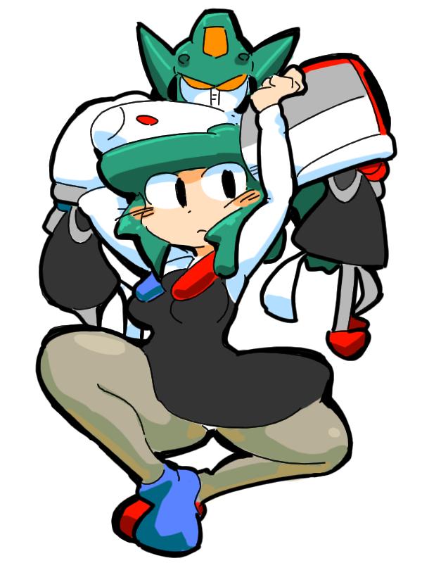 transformers pretenders humanized gijinka The Brave Express Might Gaine Tribomber bombers bomber man girl
