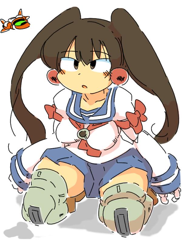 dodonpachi daifukkatsu cave sailor robot girl transformers stg shooting game AI computer element daughter doll