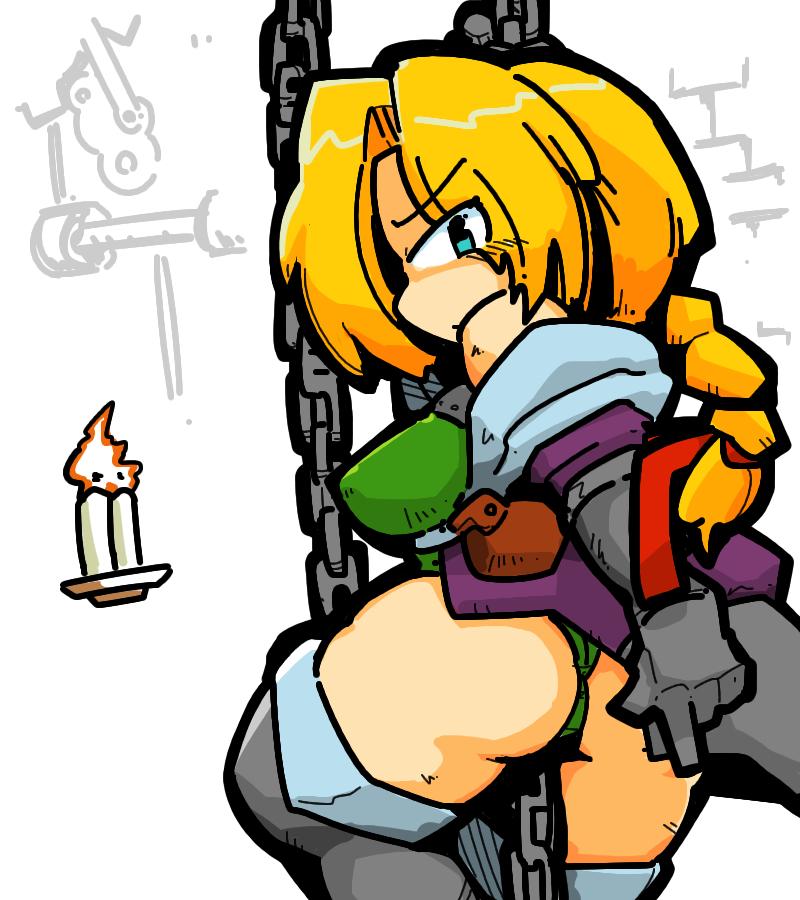 konami castlevania legends Sonia Belmont leotard whip gameboy stage3 clock tower