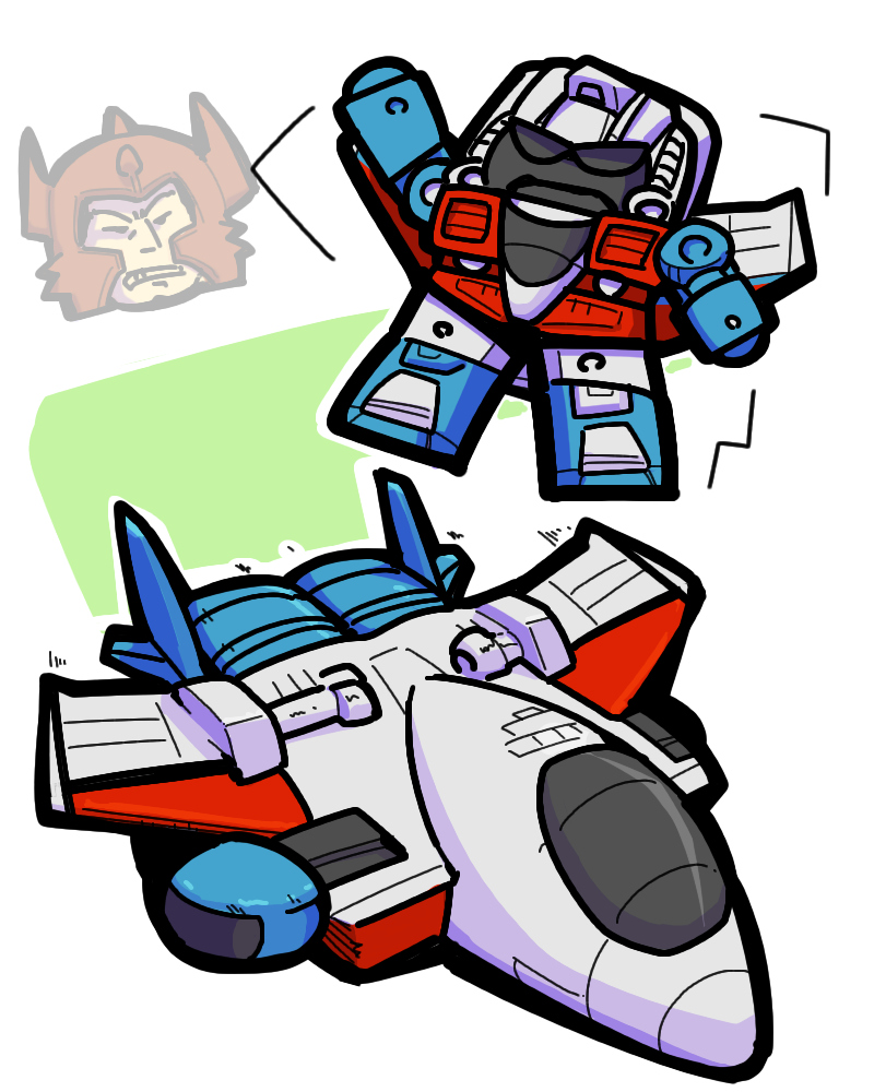 transformers generation1 starscream pretenders