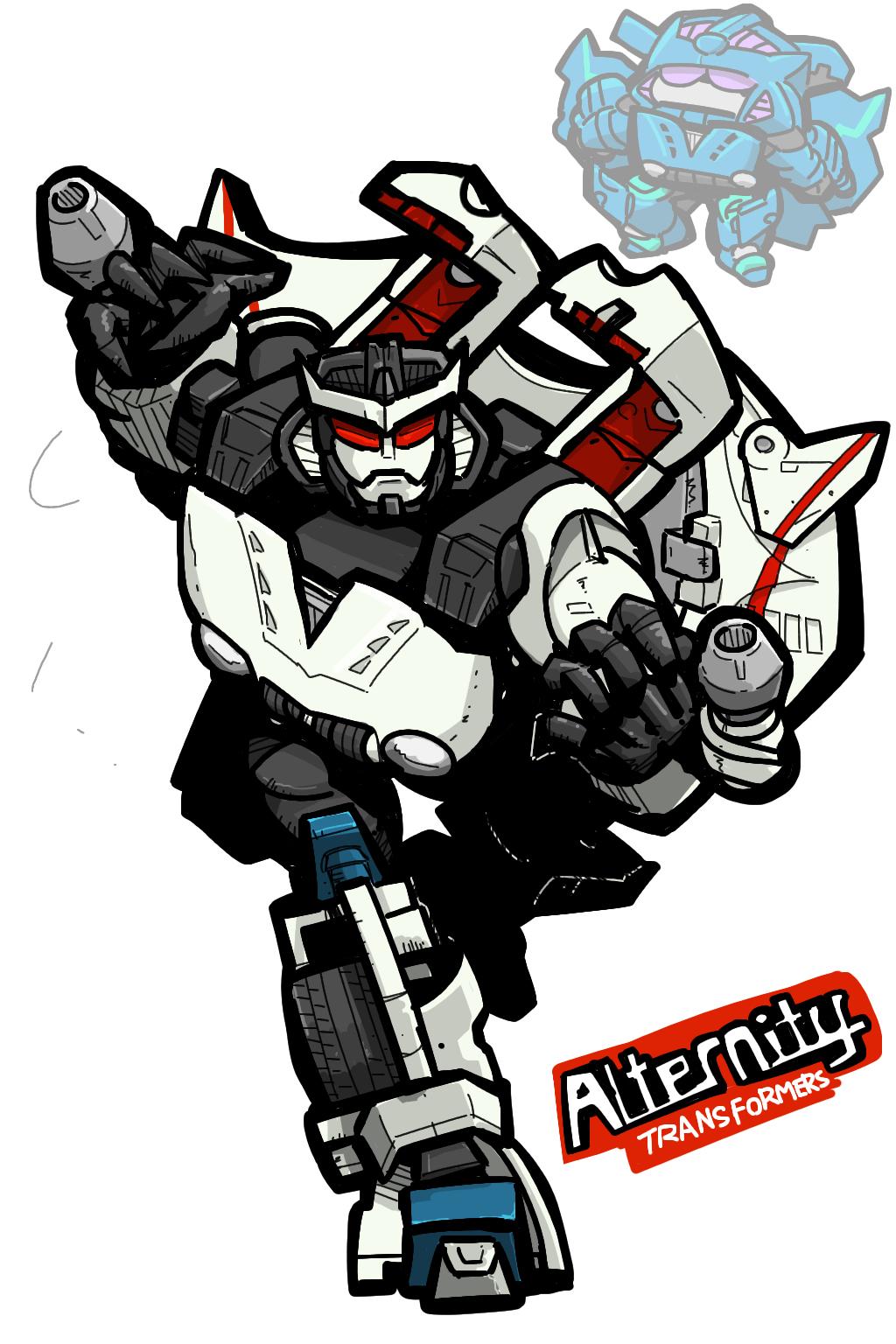 Transformers Alternity Starscream Thundercracker Mitsuoka Orochi