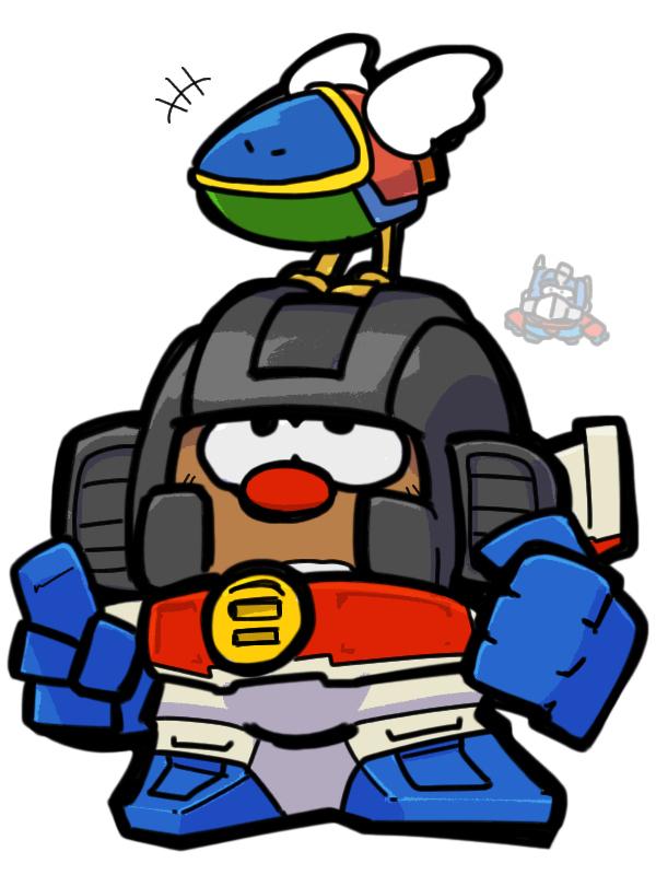 Transformers mr potato head Starscream Opa-opa