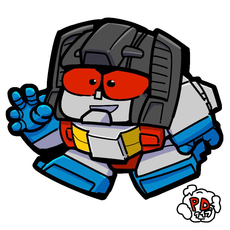 Transformers Generation1 Parody Deformed kabaya PD Starscream