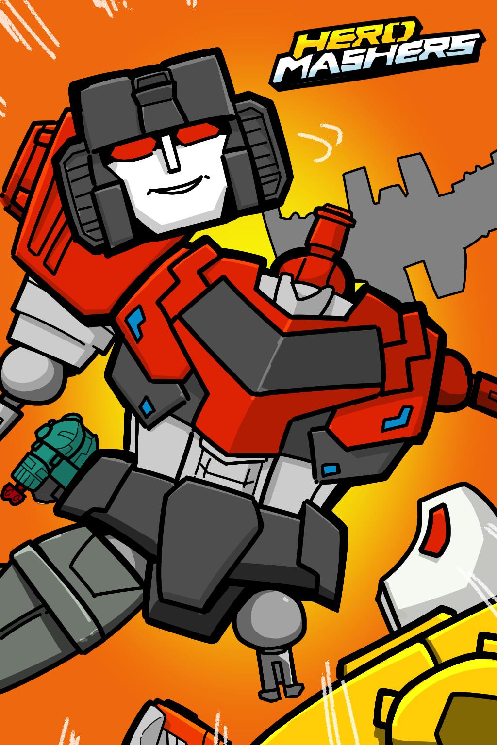 Transformers Hero Mashers Starscream