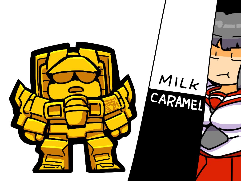 Transformers Generation1 milk caramel kabaya Starscream