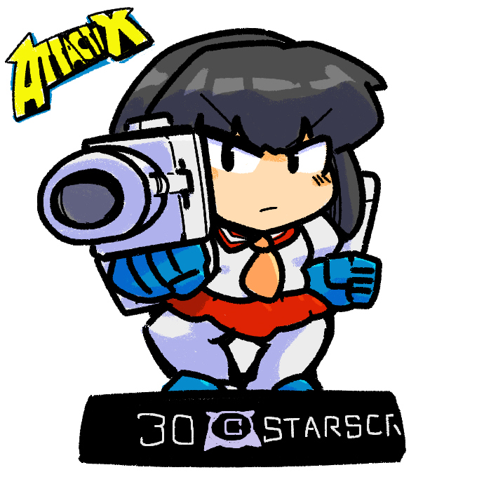 Transformers Generation1 Attacktix Starscream Gijinka Robot girl Holomatter Avatars