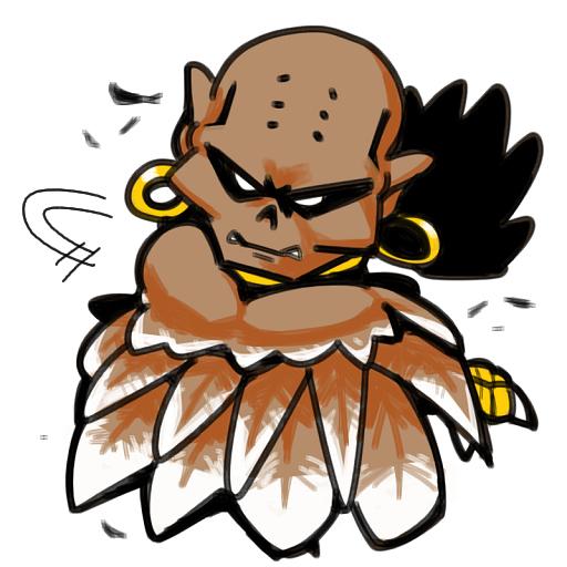 Shin Megami Tensei II if... Monster Video Game Raptor Gurr グルル