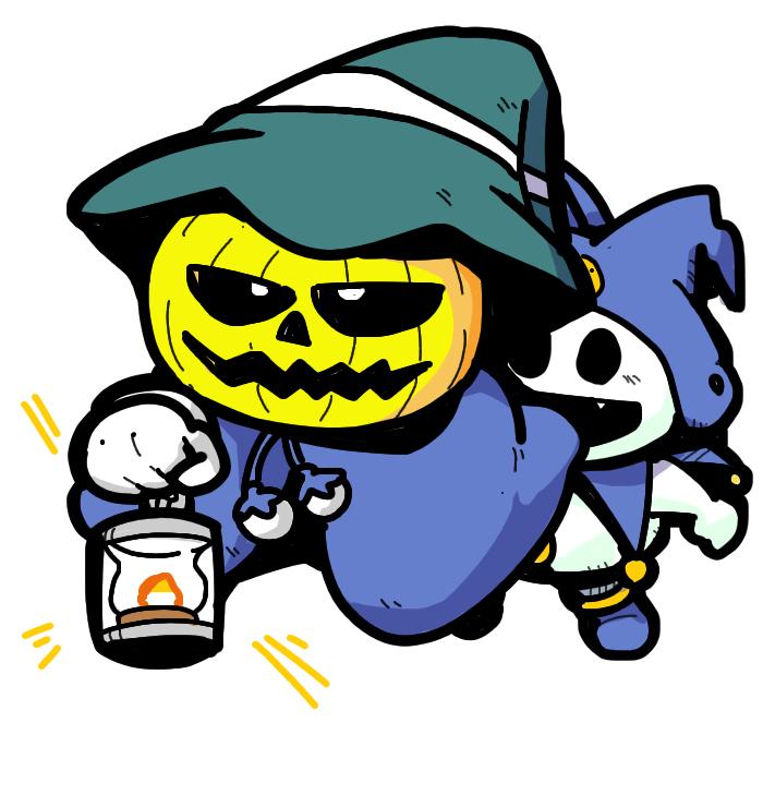 Shin Megami Tensei II 真女神転生Ⅱ Pyro Jack O'Lantern ジャックランタン