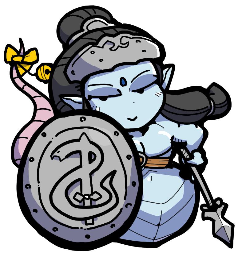 Shin Megami Tensei II 女神転生 Naga ナーガ snake