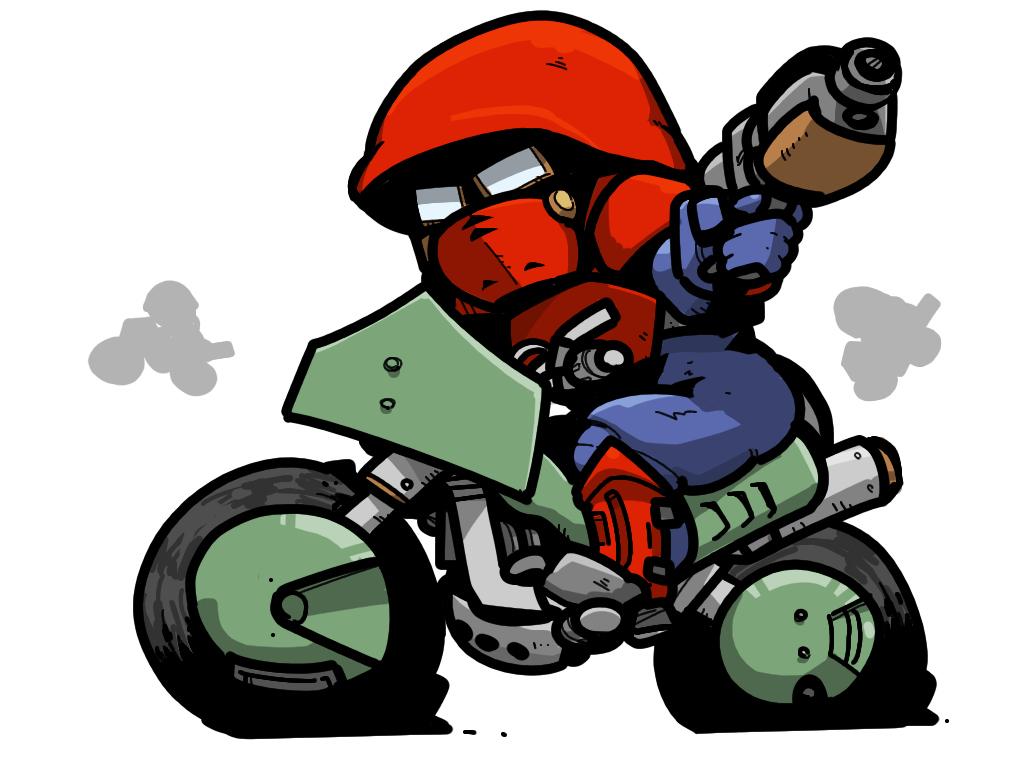 Death Rider Executioner Rider しょけいライダー  処刑ライダー Shin Megami Tensei  Gaean ガイア教徒