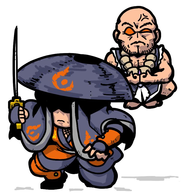 Dark Priest やみほうし  Shin Megami Tensei  Gaean ガイア教徒 Assassin アサシン