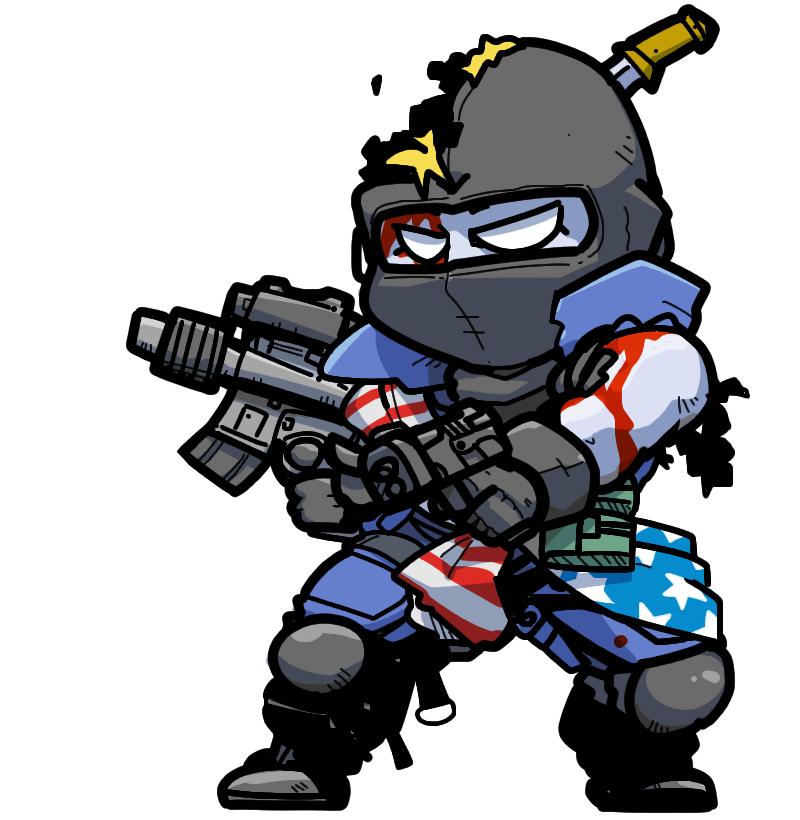 Shin Megami Tensei: Devil Summoner Zombie Undead Patriot パトリオット 愛国者
