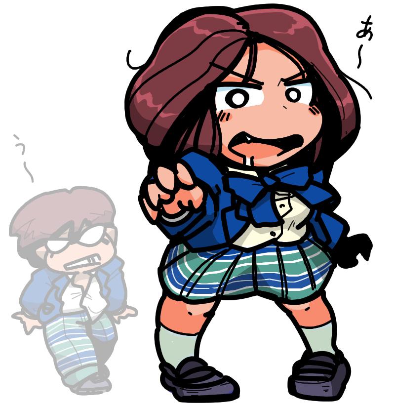 Zombie Girl  ゾンビちゃん Zonbi-chan Boy ゾンビくん Zonbi-kunShin Megami Tensei if... School Girl
