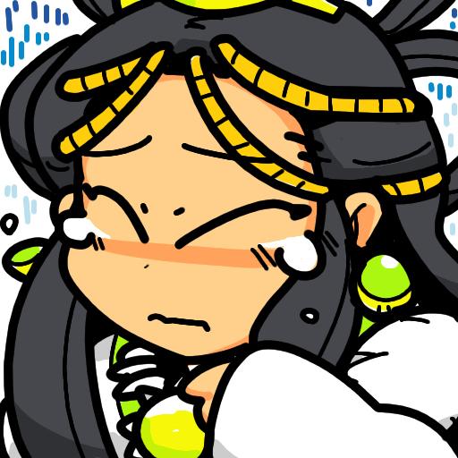 Amaterasu アマテラス Shin Megami Tensei II if... Amatsu Amaterasu-Omikami 天照大御神 Crying
