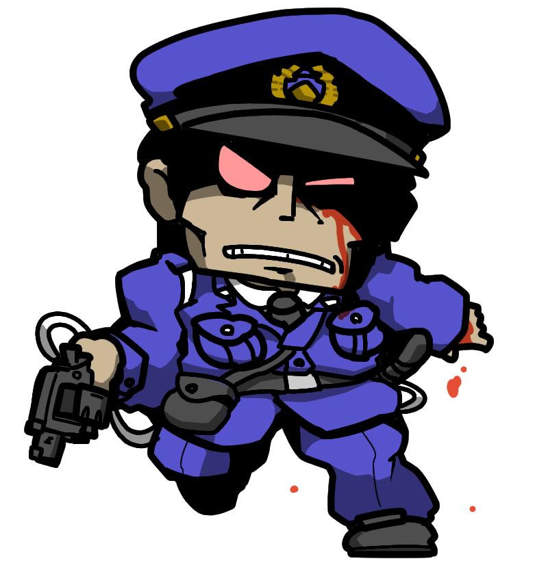 Undead Zombie Cop ゾンビコップ Shin Megami Tensei: Devil Summoner Persona