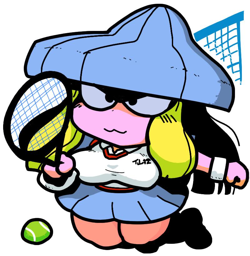 仙狸 Senri Shin Megami Tensei Fairies 妖精 mountain cat Girl tennis wear テニスウェア