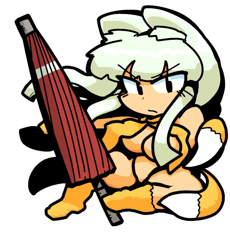 Chefei チェフェイ Shin Megami Tensei if... Wilder 妖獣 Fox Girl