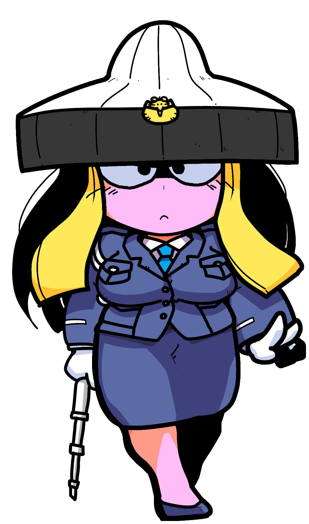 仙狸 Senri Shin Megami Tensei Fairies 妖精 mountain cat Girl police girl