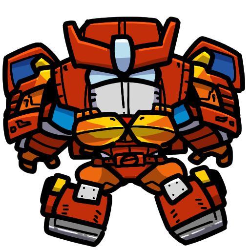 transformers Energon Greejeeber Strongarm Rodimus Hotrod