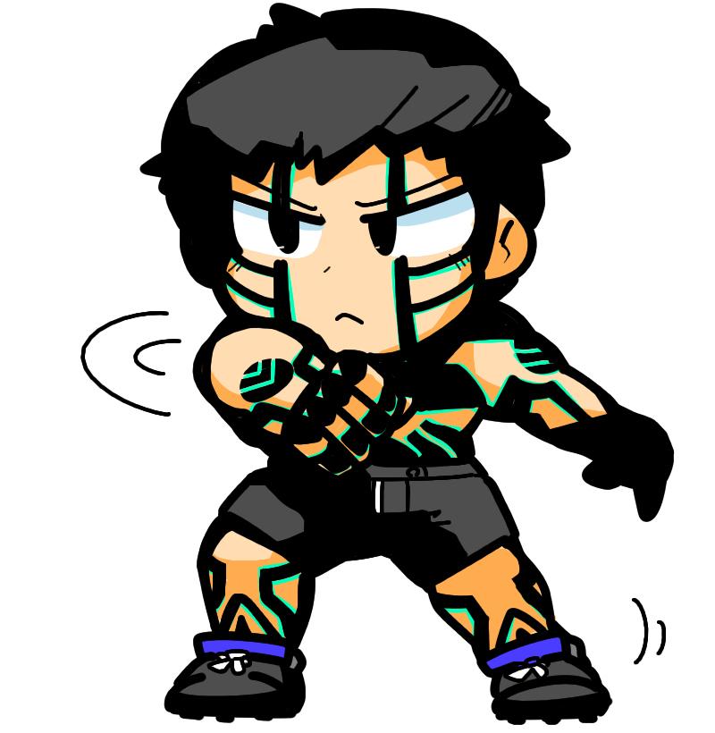 Demi-fiend Naoki Kashima Shin Megami Tensei III: Nocturne 人修羅
