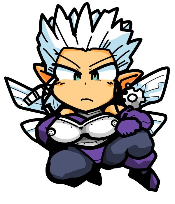 Shin Megami Tensei2 真・女神転生 妖精ハイピクシー High Pixie Fairy leotard Monster Girl