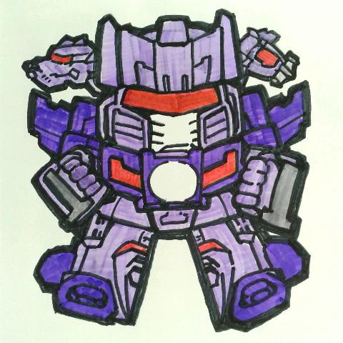 Transformers r.i.d しょっくねーど Shockdrive Warnado