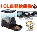 大容量の餌タンク(約45カップ/約10リットル)で大型/中型/小型犬、猫にも対応 !