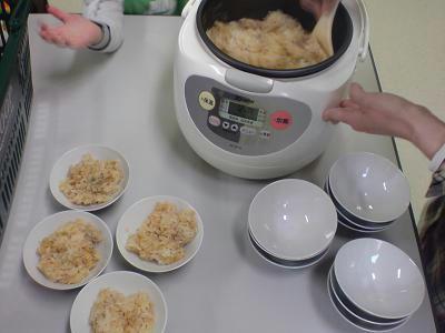 トマトスープの炊き込みご飯