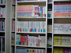 さくらの実家の書棚