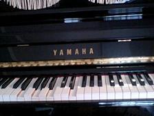 YAMAHAの自動演奏ピアノ