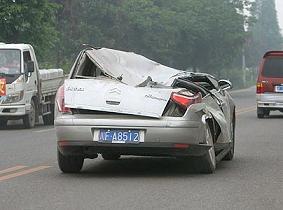 Mianzhuで撮影された自動車