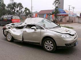 Mianzhuで撮影された自動車2