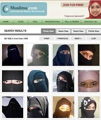 イスラム教の出会い系サイト