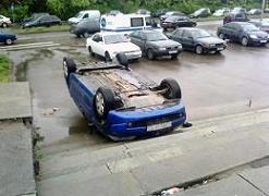 駐車に失敗1