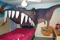 怪獣のベッド