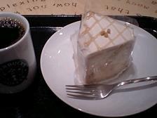 メープルシフォンケーキ