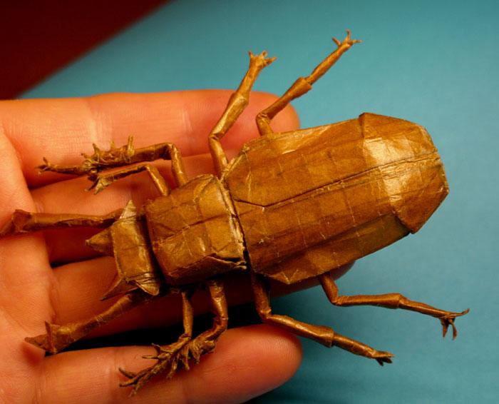 すべての折り紙 折り紙 昆虫 折り方 : 昆虫を中心とした折り紙の ...