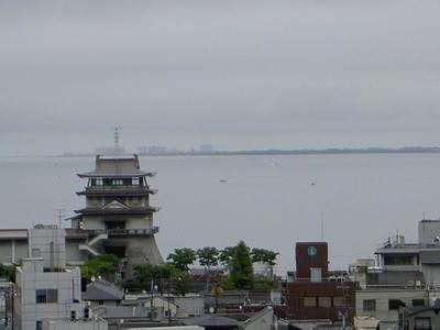 大津市からの眺望