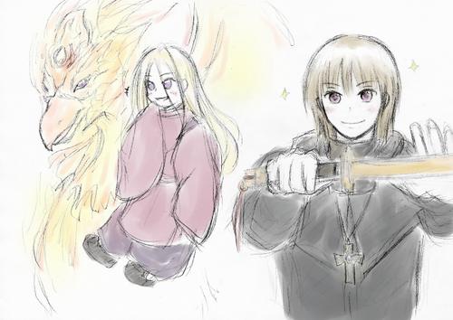 黒コート暑苦C