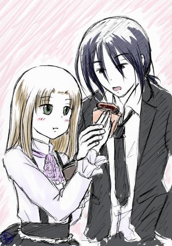 付き合ってない謠子と戸谷(2年後のすがた)