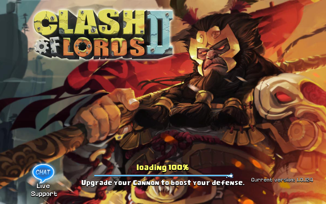 Clash of Lords 2 Current version 1.0.124