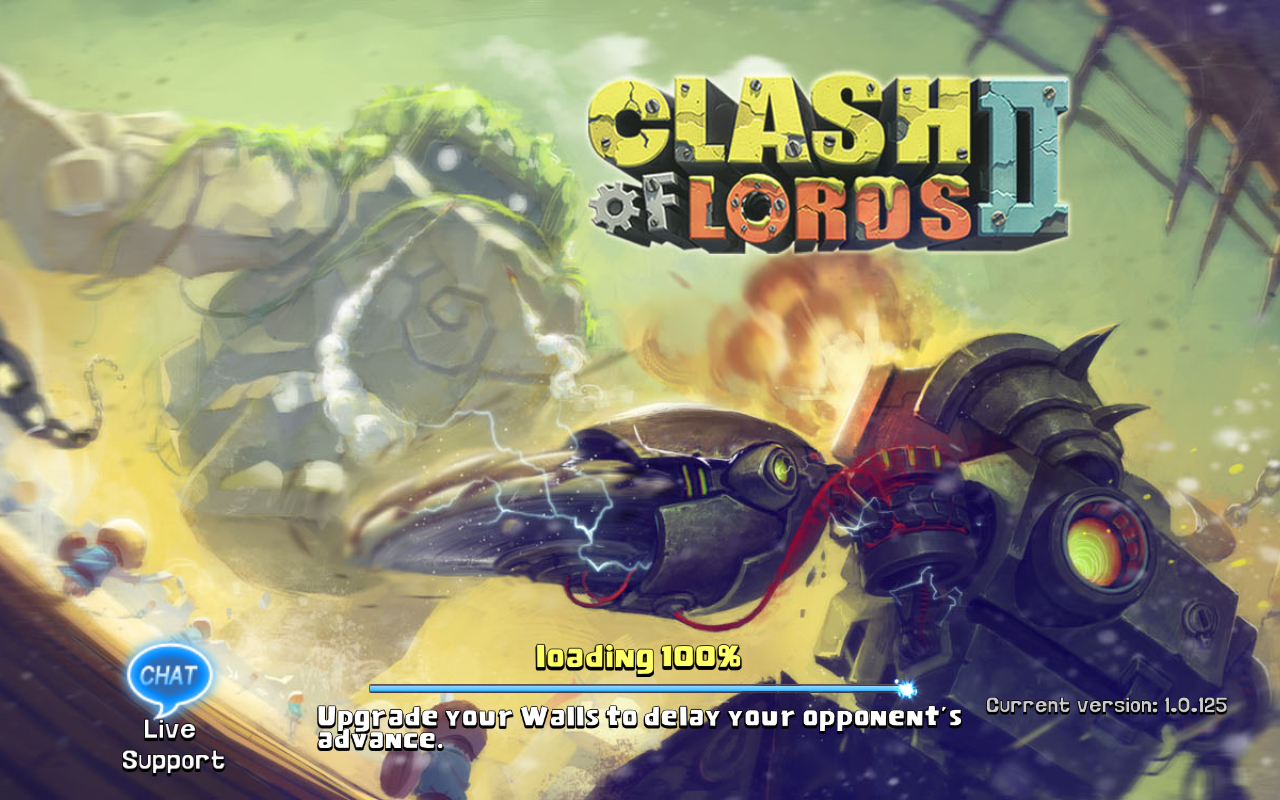 Clash of Lords 2 Current version 1.0.125