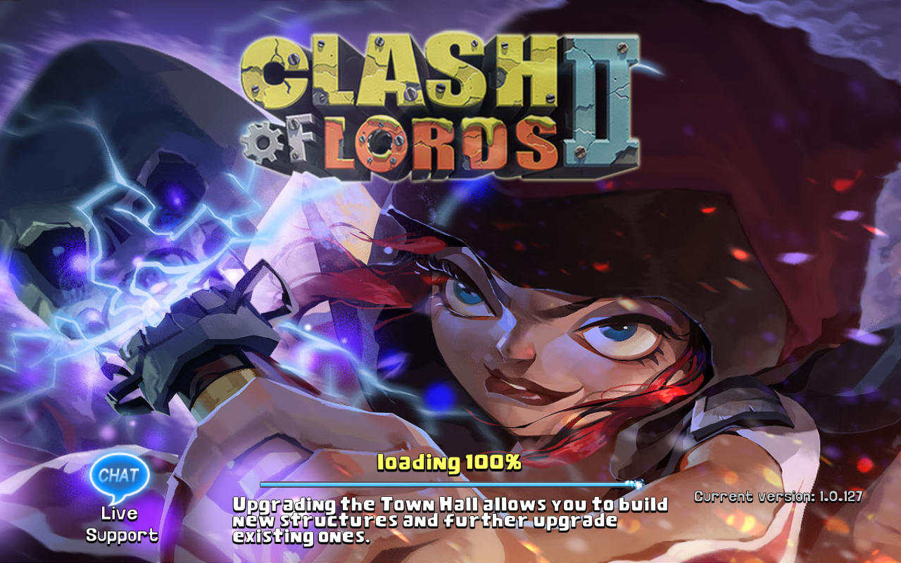 Clash of Lords 2 Current version 1.0.127