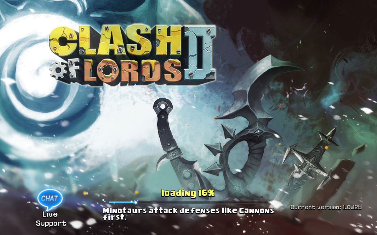 Clash of Lords 2 Current version 1.0.128
