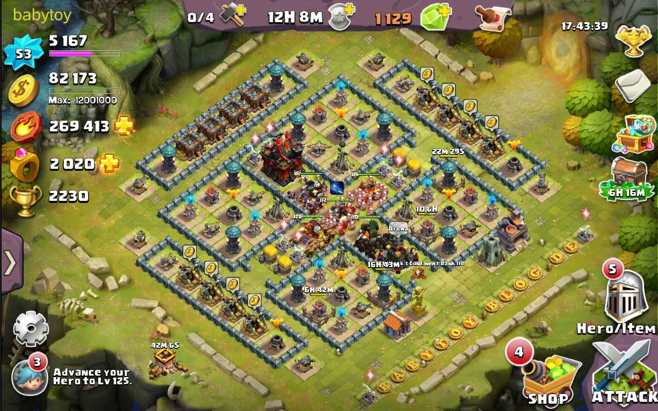 Clash of Lords 2 Level 53