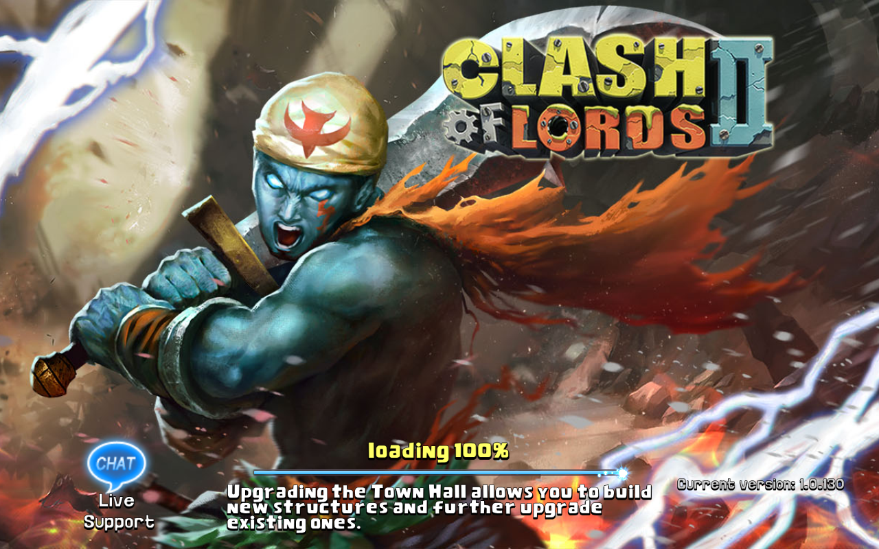 Clash of Lords 2 Current version 1.0.130